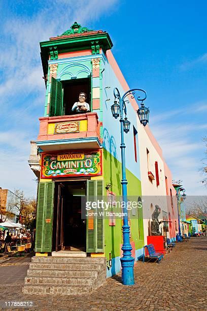 Painted buildings, La Boca