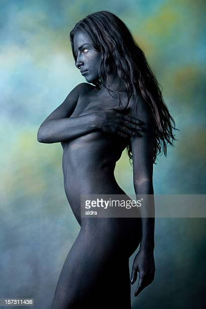 painted dreams - body paint stock pictures, royalty-free photos & images