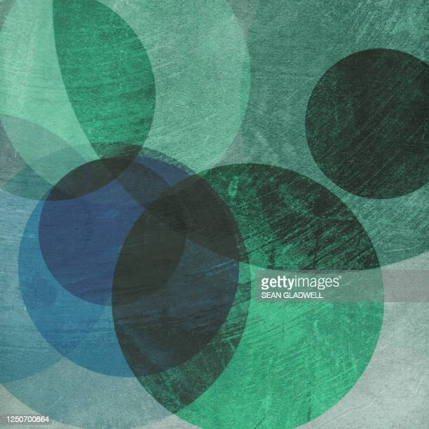 painted green circles - graphic print stock pictures, royalty-free photos & images