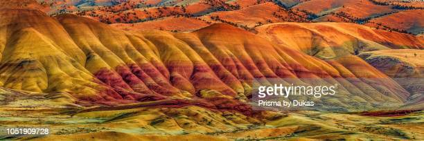 USA Painted Hills John Day Central Oregon Pacific Northwest