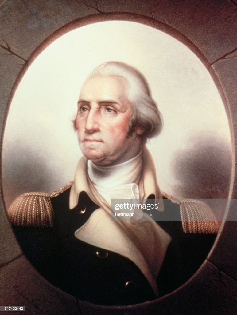 George Washington as Patriae Pater (ca. 1853) by Rembrandt Peale ...