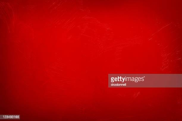 painted red background wall