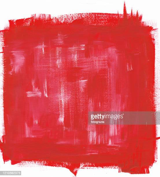 painted red color background - paint textures stock pictures, royalty-free photos & images