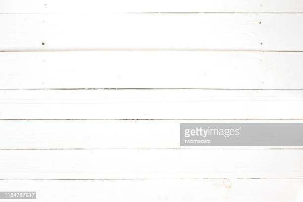 painted white plank. - white wood stock pictures, royalty-free photos & images