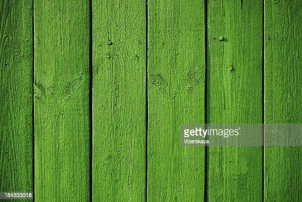 Painted wooden plank