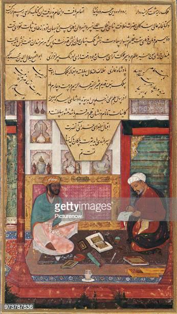 Painter and Scribe, Daulat, 1610 .