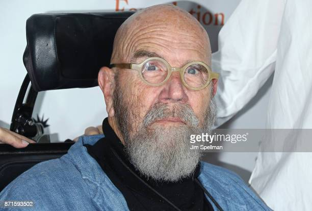 Painter Chuck Close attends the 11th Annual Stand Up for Heroes at The Theater at Madison Square Garden on November 7 2017 in New York City