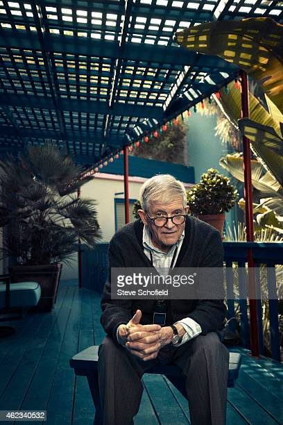 Painter David Hockney is photographed for the Observer on October 28 2014 in Los Angeles California
