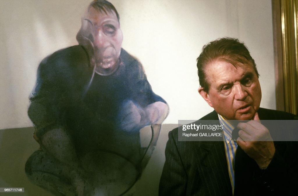 Painter Francis Bacon In Paris... : ニュース写真