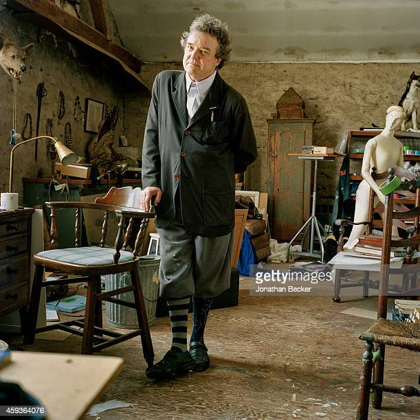 Painter Jamie Wyeth is photographed for Vanity Fair Magazine on April 22 2014 in Chadds Ford Pennsylvania PUBLISHED IMAGE