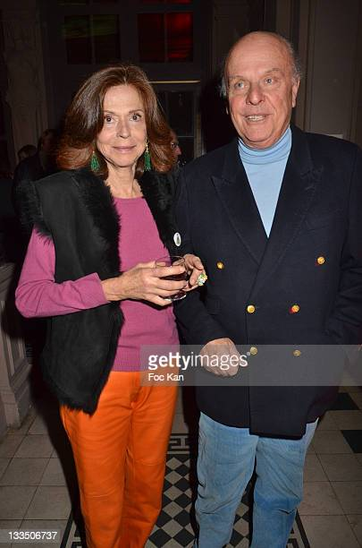 Painter Joy de Rohan Chabot and Jean de Rohan Chabot attend the Technikart 20th Anniversary Party at Le Trianon on November 18 2011 Paris France