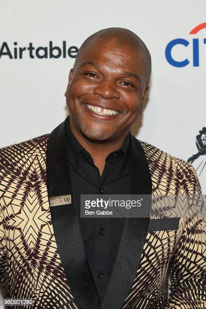 Painter Kehinde Wiley attends the 2018 Time 100 Gala at Jazz at Lincoln Center on April 24, 2018 in New York City.
