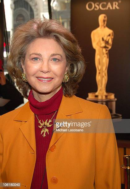 Painter Maria Cooper Janis attends the 2008 Meet The Oscars press preview display in New York City's Times Square Studios on February 15 2008