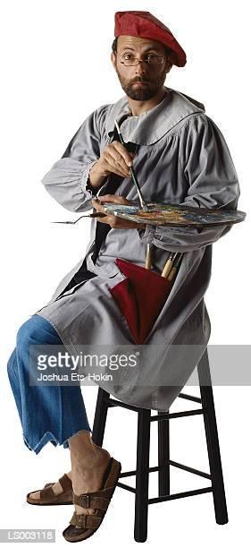 painter - ベレー帽 ストックフォトと画像