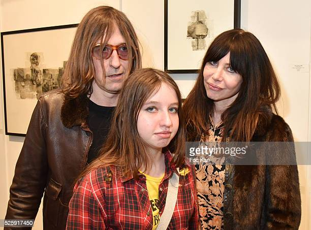 Painter/musician/singer Pierre Emery from Ultra Orange band his daughter Rose Lesage and his wife Singer/musician/photographeer Gil Lesage from Ultra...