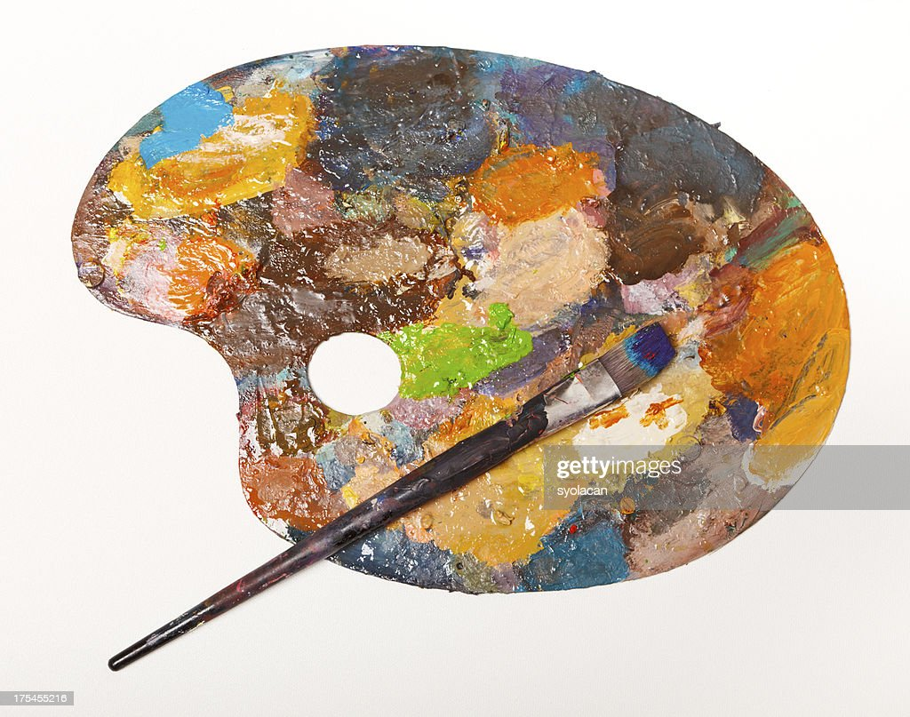 Painter's Palette : Stock Photo