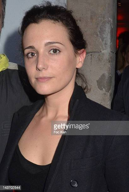 Painter/singer Ara Starck attends the 'WAA/HH' Food Flavouring Spray By Philippe Starck and Patrick Edwards Launch Cocktail at Le Laboratoire on May...