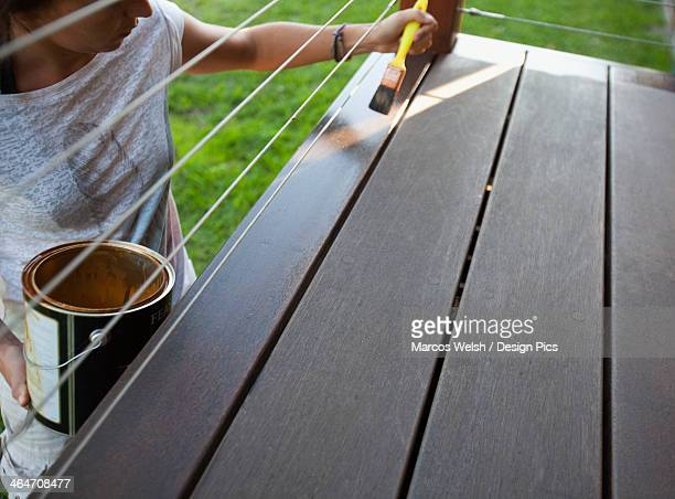 Painting A Wooden Surface