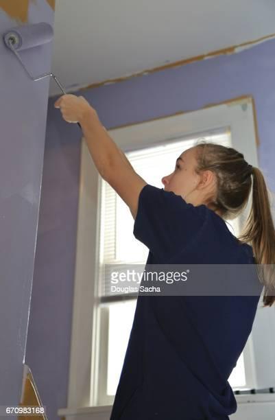 Painting an interior Wall At Home