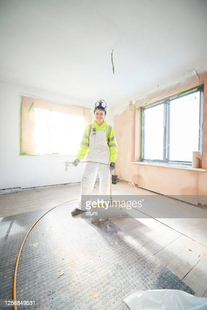 painting and decorating trainee - sturti stock pictures, royalty-free photos & images
