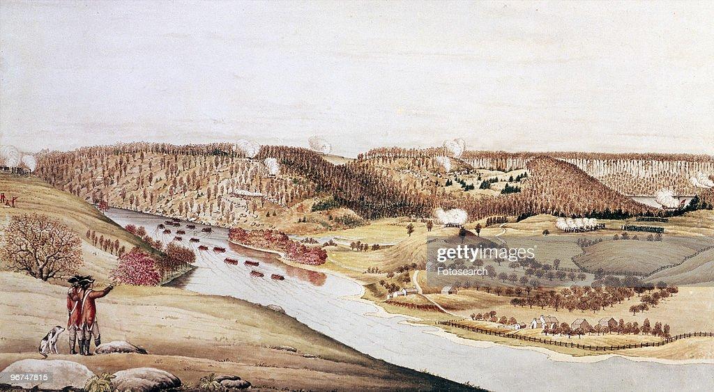 Attack On Fort Washington : News Photo