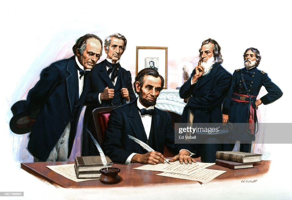 Emancipation Proclamation : News Photo