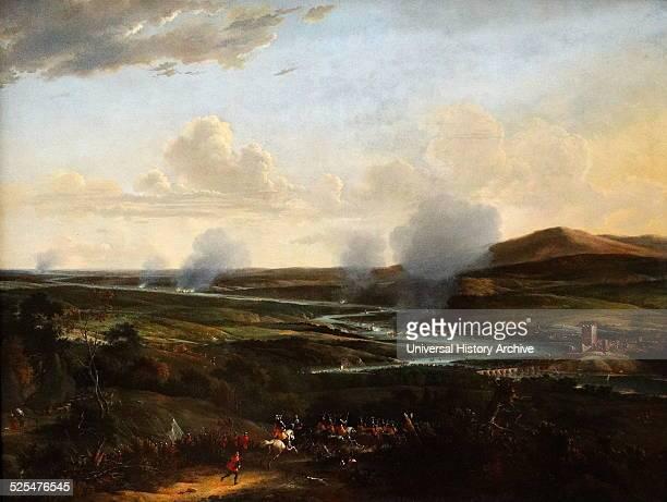 Painting depicting the Attack on Chatham Painted by Willem Schellinks Dated 17th Century