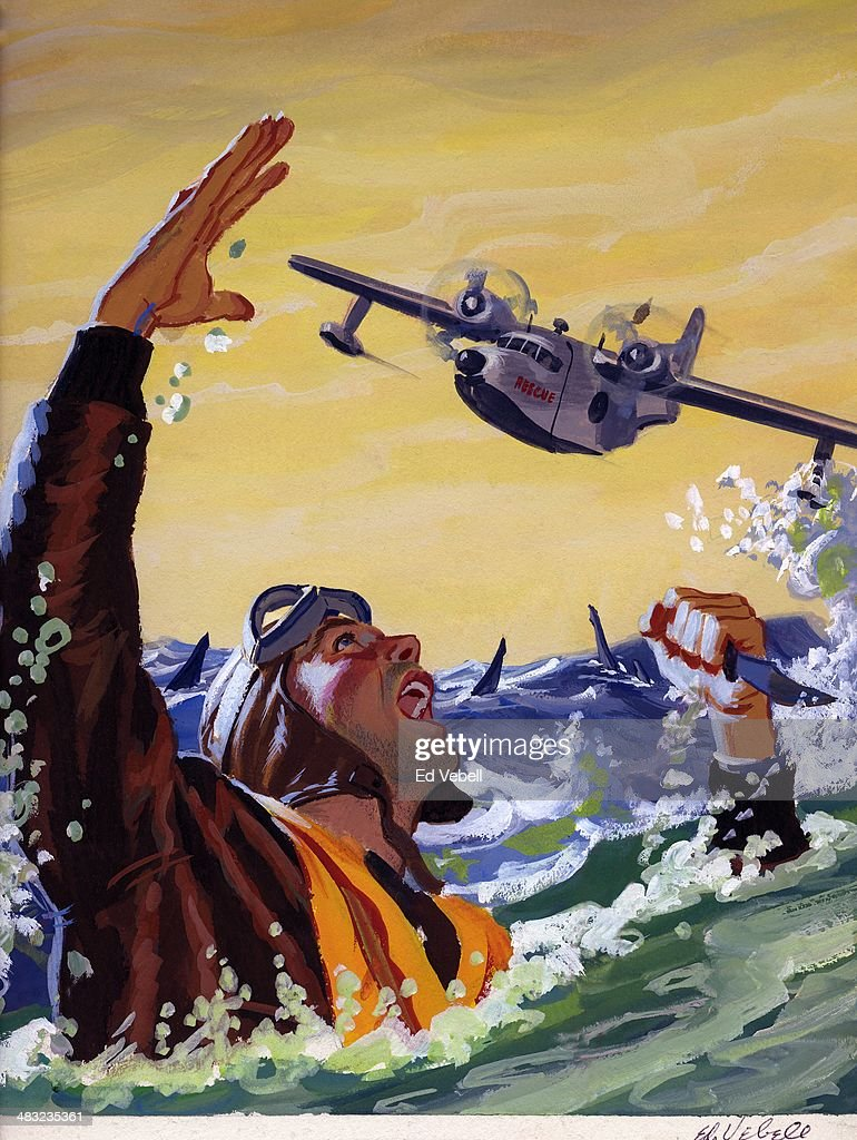 Downed Pilot : News Photo