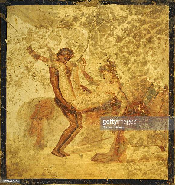 Painting from the Ruins of Pompeii