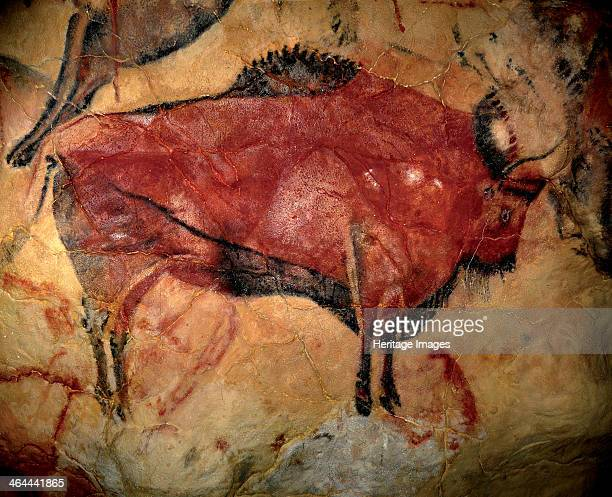 Painting in the cave of Altamira 000 to 11,000 BC.