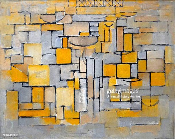 Painting No 8 by Piet Mondrian was a Dutch painter He was an important contributor to the De Stijl art movement and group which was founded by Theo...