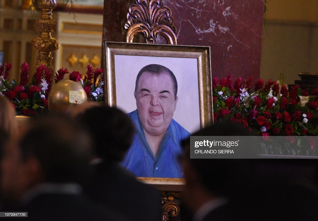 A Painting Of Businessman Jose Rafael Ferrari President Of The Club News Photo Getty Images