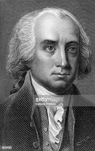A painting of James Madison fifth President of the United States who served from 1817 to 1825