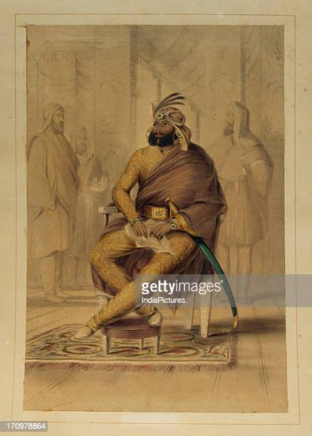 Painting of Maharaja Ranjit Singh