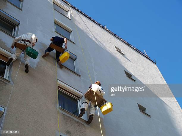 pintura - fachada arquitectónica fotografías e imágenes de stock