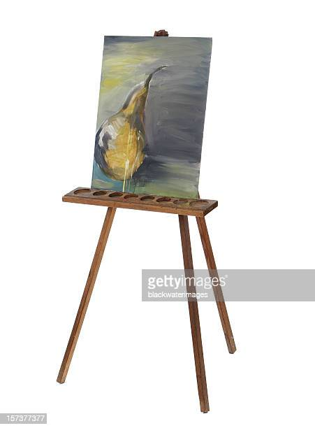 painting - easel stock pictures, royalty-free photos & images