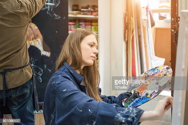 Gemälde student