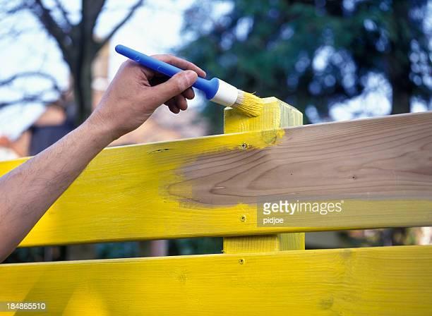 Gemälde die Zaun