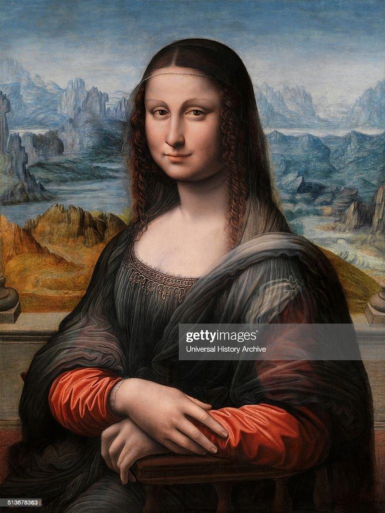 "Painting titled ""Mona Lisa"". : News Photo"