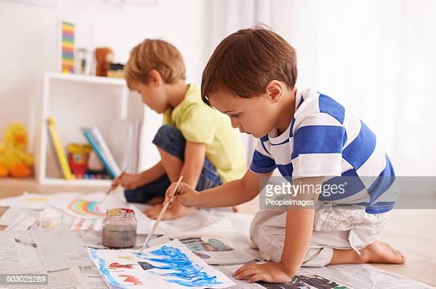 Peinture pour leur hearts'contenu