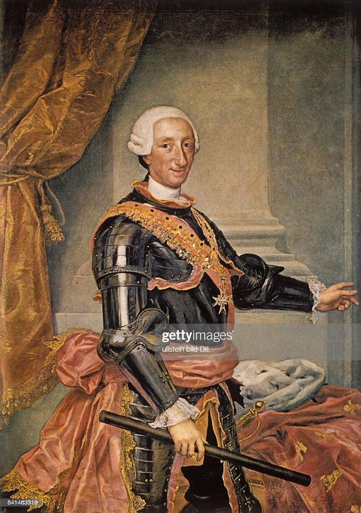 Paintings Charles III 1716 - 1...