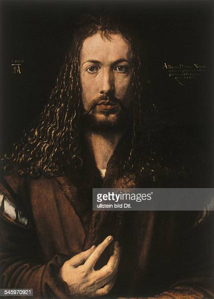 Paintings Duerer Albrecht *2105147106041528 Painter Germany selfportrait around 1500