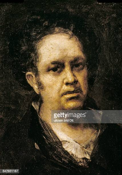 Paintings Francisco Goya *17461828 Artist painter Spain selfportrait about 1771