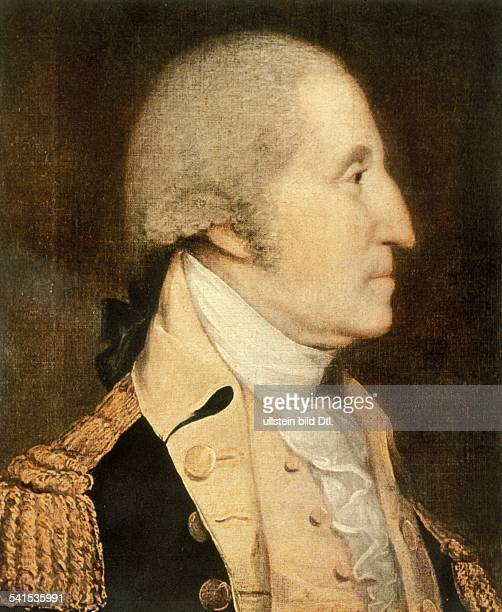 Paintings George Washington *2202173214121799 Politician USA First president of the USA 17891796 contemporary painting by Joseph Wright 18th century
