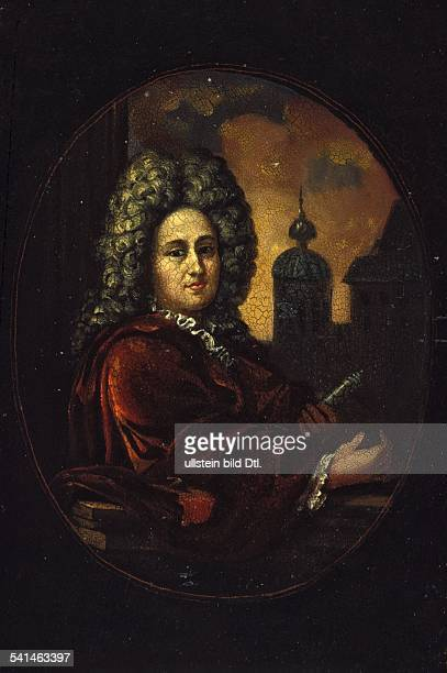 Paintings Gottfried Wilhelm Leibniz 1646-1716 Philosopher, mathematician, Germany contemporary portrait, painting - 17th century