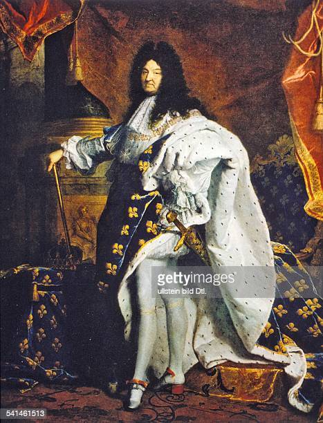Paintings Louis XIV *0509163801091715 King of France 16431715 painting by Rigaud