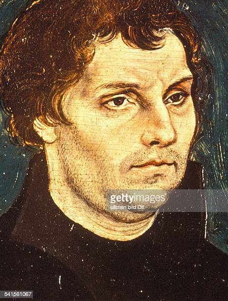 Paintings Luther Martin *1011148318021546 Reformer Germany painting by Lucas Cranach the Elder around 1526/29