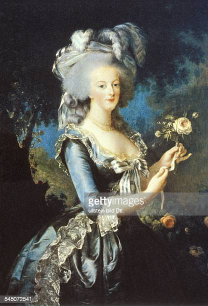 Paintings Marie Antoinette *0211175516101793 Wife of King Louis XVI of France Daughter of Emperor Francis I and Maria Theresa of Austria Portrait...