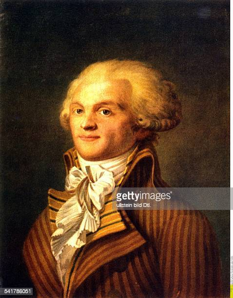 Paintings Maximilien de Robespierre *0605175828071794 Lawyer revolutionary Jacobin France portrait Musee de Carnavalet Paris 18th century