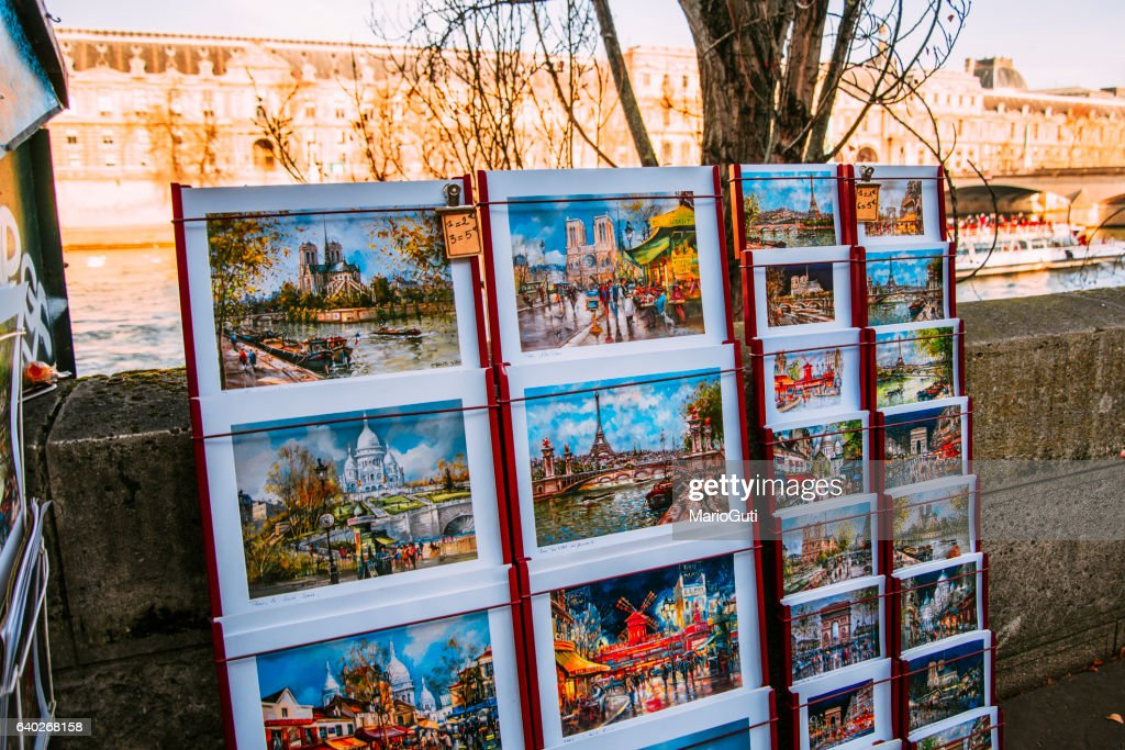 Paintings of Paris for sale : Stock Photo